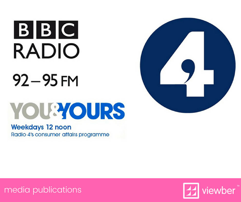 BBR R4's You and Yours talks to Viewber