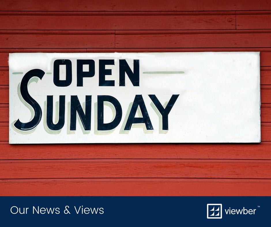 Open Sundays without working Sundays