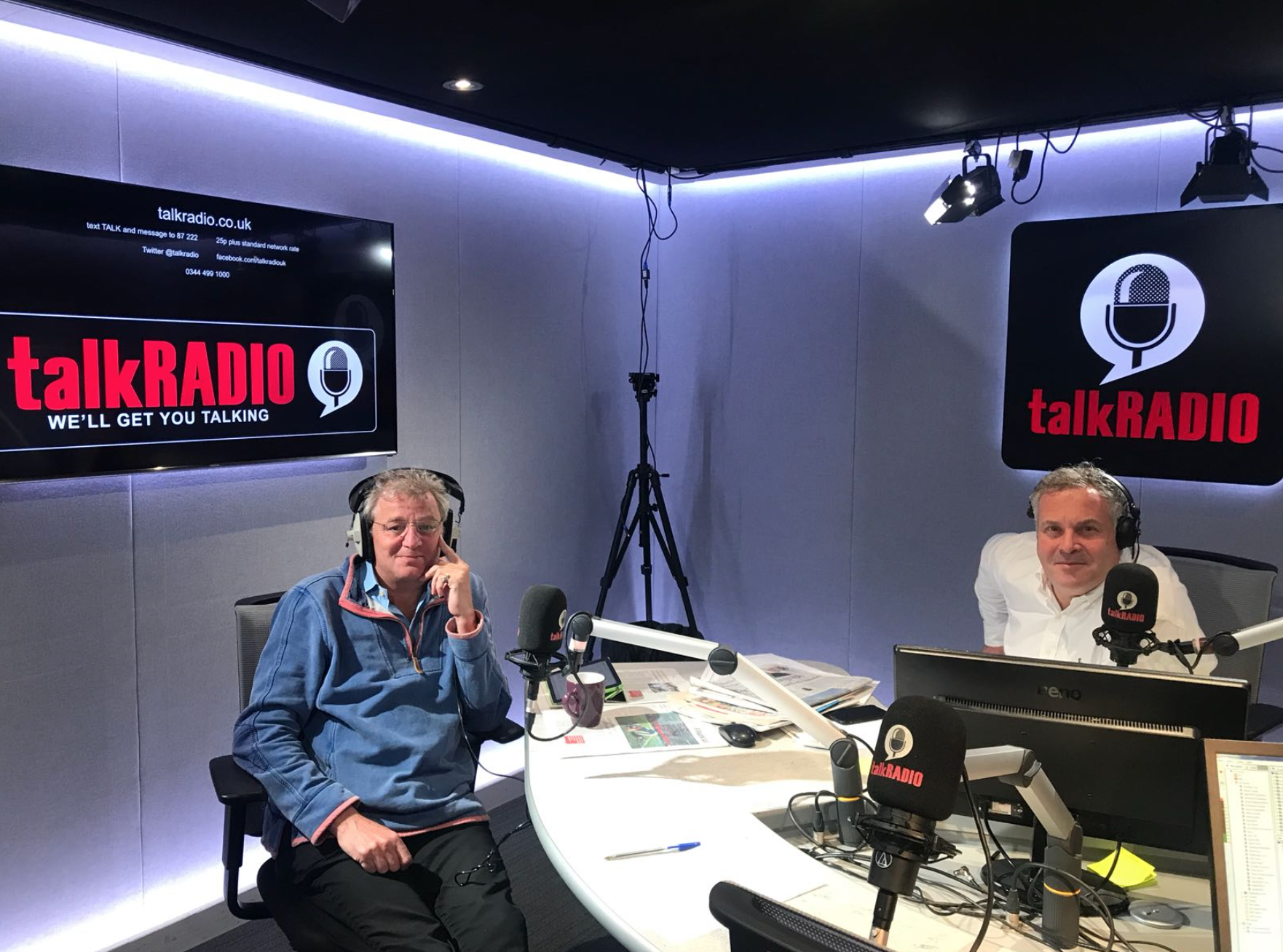 Ed talks to talkRADIO!