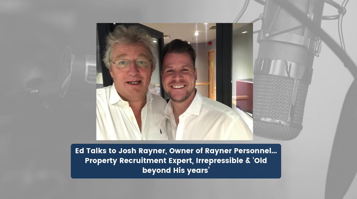Ed Talks - Property Podcast Ep. 9 with Josh Rayner