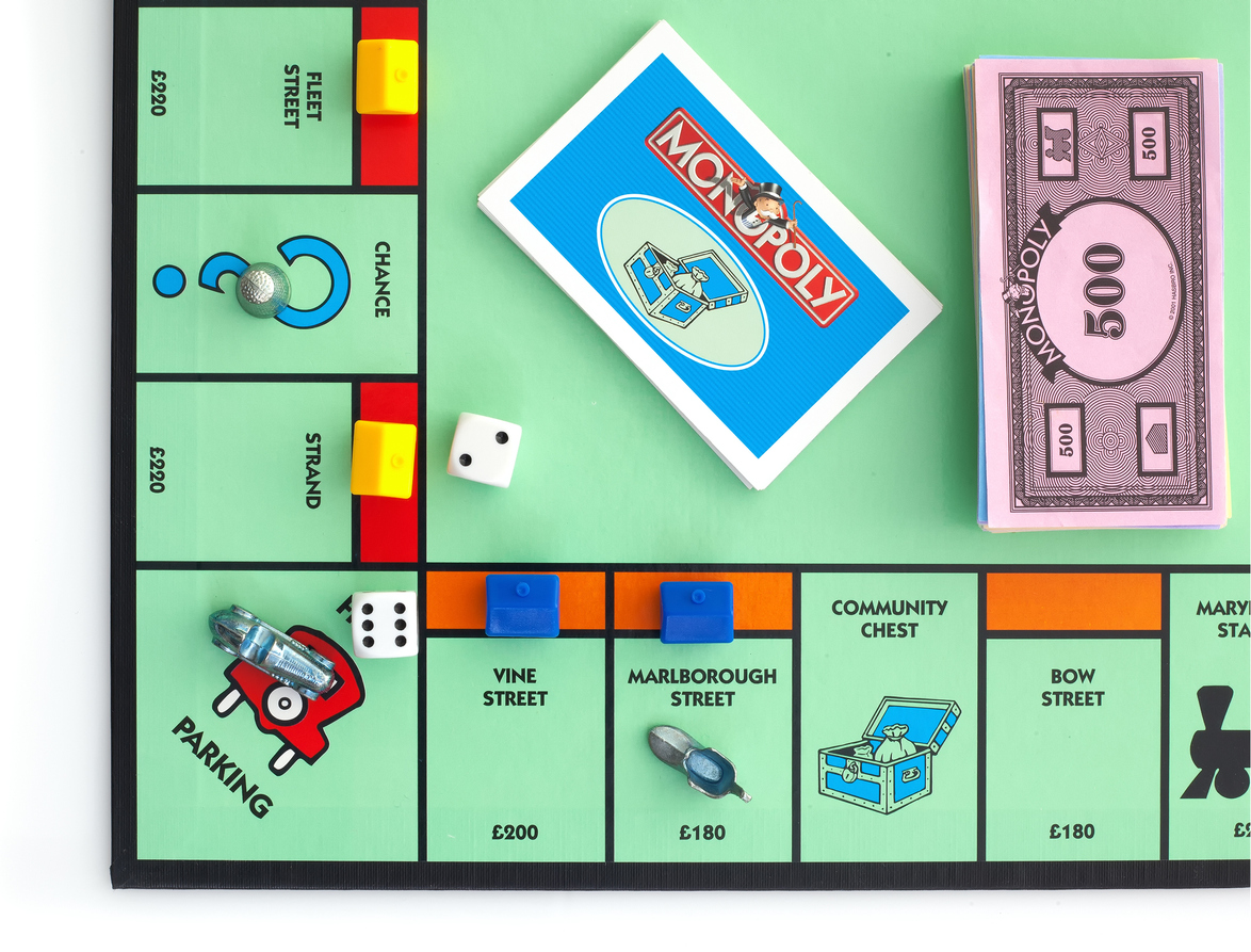 Real life Monopoly: mergers & acquisitions
