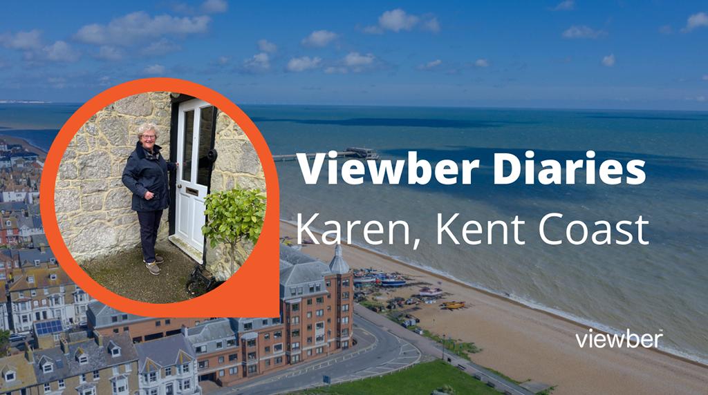 Viewber Diaries - Karen, Kent Coast