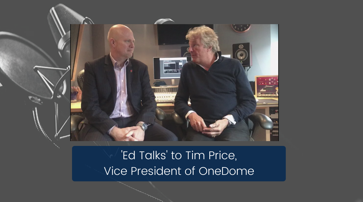 Ed Talks - Podcast with Tim Price from OneDome